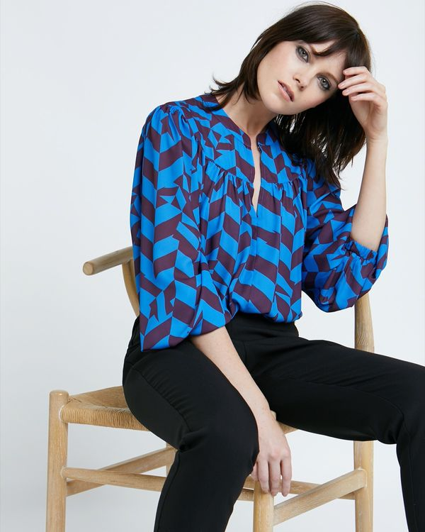Lennon Courtney at Dunnes Stores The Merci Blouse