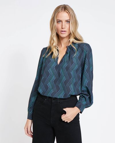 Lennon Courtney at Dunnes Stores Midnight Jana Blouse thumbnail