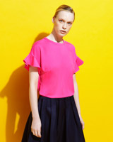 pink Lennon Courtney at Dunnes Stores Round Neck Top