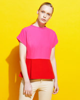 pink Lennon Courtney at Dunnes Stores Colour Block Top
