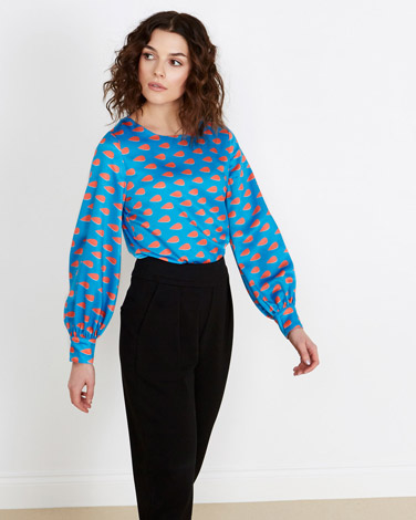 multi Lennon Courtney at Dunnes Stores Drop Print Blouse