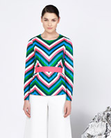 multi Lennon Courtney at Dunnes Stores Stripe Top