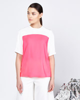 pink Lennon Courtney at Dunnes Stores Contrast Top