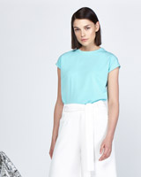 blue Lennon Courtney at Dunnes Stores Turquoise T-Shirt