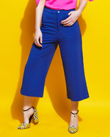 blue Lennon Courtney at Dunnes Stores Wide Leg Culottes