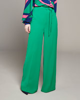 green Lennon Courtney at Dunnes Stores Green Wide Leg Trousers