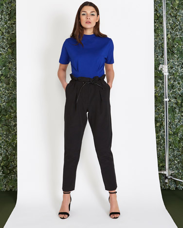 blackLennon Courtney at Dunnes Stores Gathered Trousers