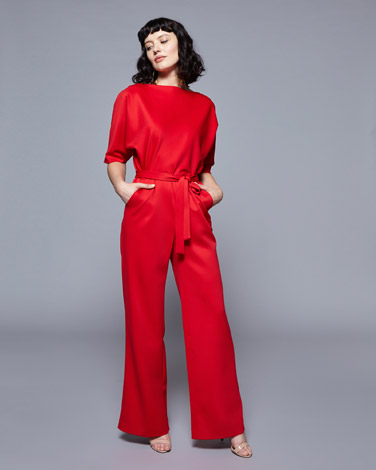 redLennon Courtney at Dunnes Stores Red Jumpsuit