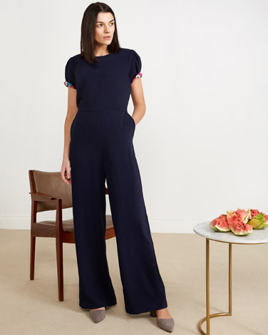 navy Lennon Courtney at Dunnes Stores Navy Jumpsuit
