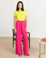 pink Lennon Courtney at Dunnes Stores Pink Flare Trousers (Limited Edition)
