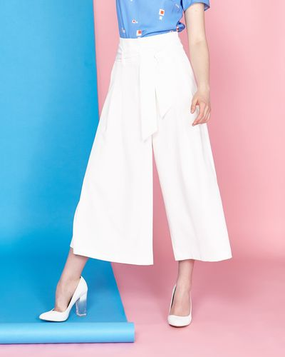 Lennon Courtney at Dunnes Stores White Culottes