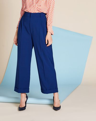 Lennon Courtney at Dunnes Tailored Turn Up Trousers