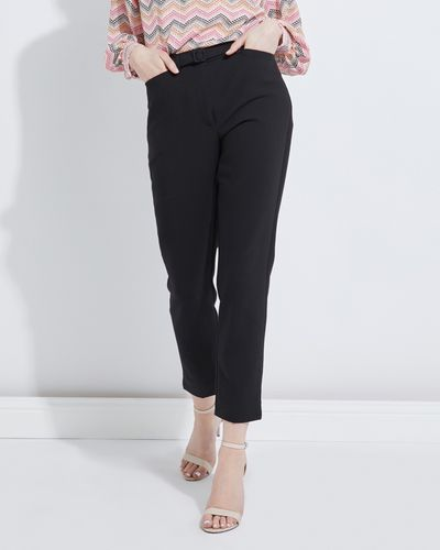 Lennon Courtney at Dunnes Stores Pultra Black Trousers