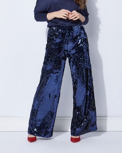 Lennon Courtney at Dunnes Stores Sequin Trousers