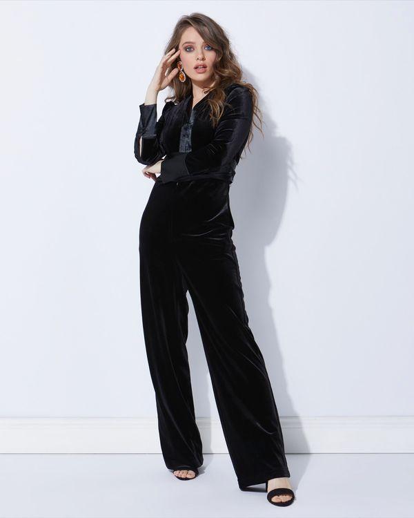 Lennon Courtney at Dunnes Stores Velvet Jumpsuit
