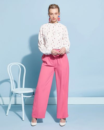 Lennon Courtney at Dunnes Stores Panther Trousers