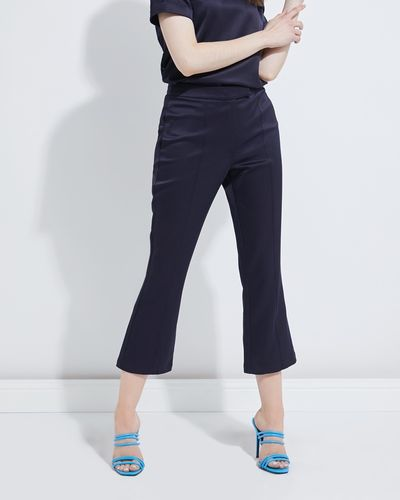 Lennon Courtney at Dunnes Stores Navy Kick Flare Trousers