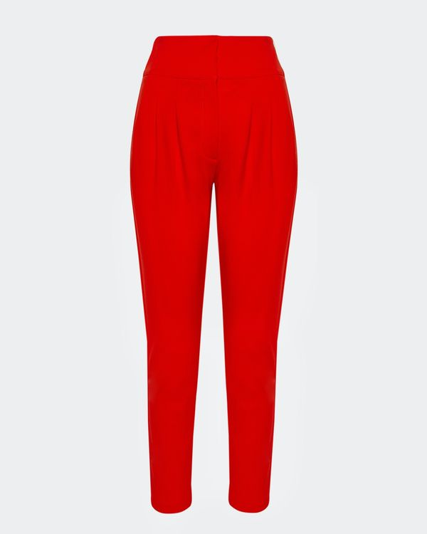 Lennon Courtney at Dunnes Stores Orange Tapered Trousers