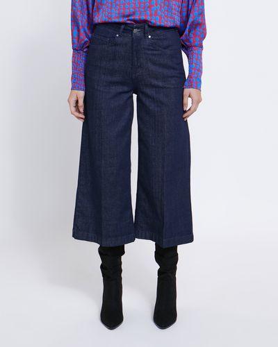 Lennon Courtney at Dunnes Stores Dark Wash Denim Wide Leg Jeans thumbnail