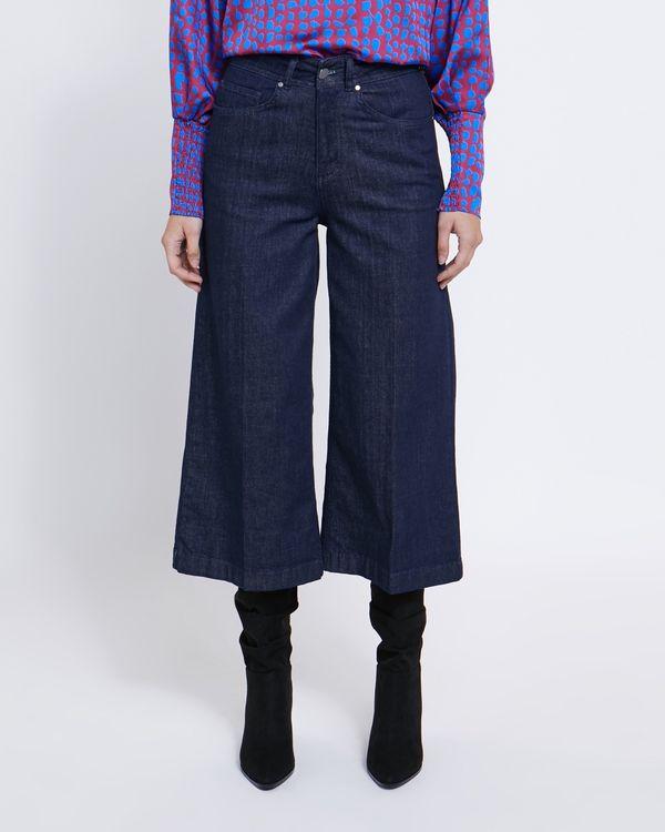 Lennon Courtney at Dunnes Stores Dark Wash Denim Wide Leg Jeans