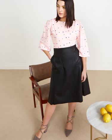 blackLennon Courtney at Dunnes Stores PU Skirt