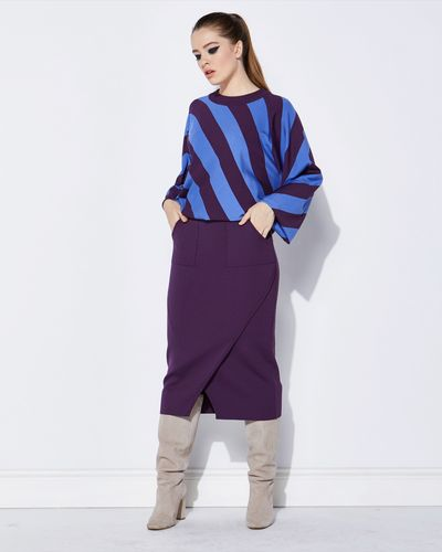 Lennon Courtney at Dunnes Stores Wrap Knit Skirt
