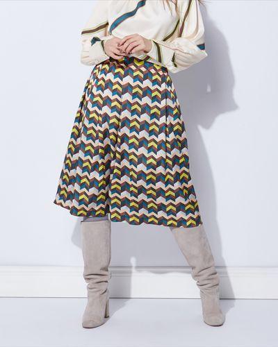 Lennon Courtney at Dunnes Stores Stripe Print Skirt