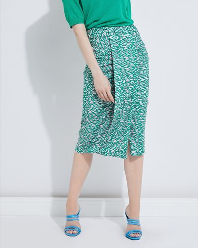 Lennon Courtney at Dunnes Stores Jersey Printed Skirt