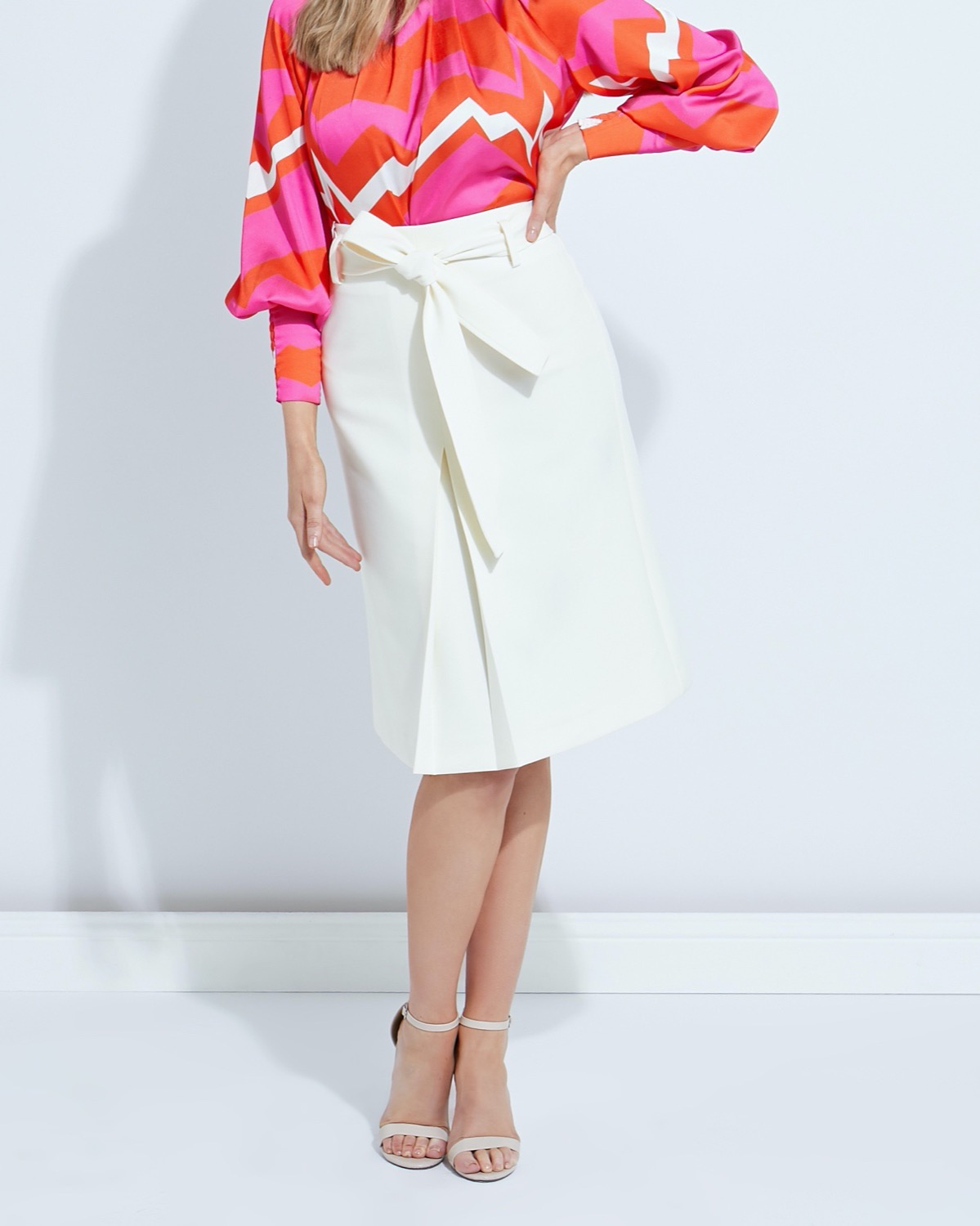 Lennon Courtney at Dunnes Stores Box Pleat Skirt