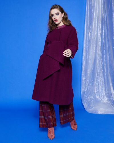 Lennon Courtney at Dunnes Stores AU19 Swing Coat