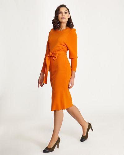 Lennon Courtney at Dunnes Stores Orange Knit Dress thumbnail