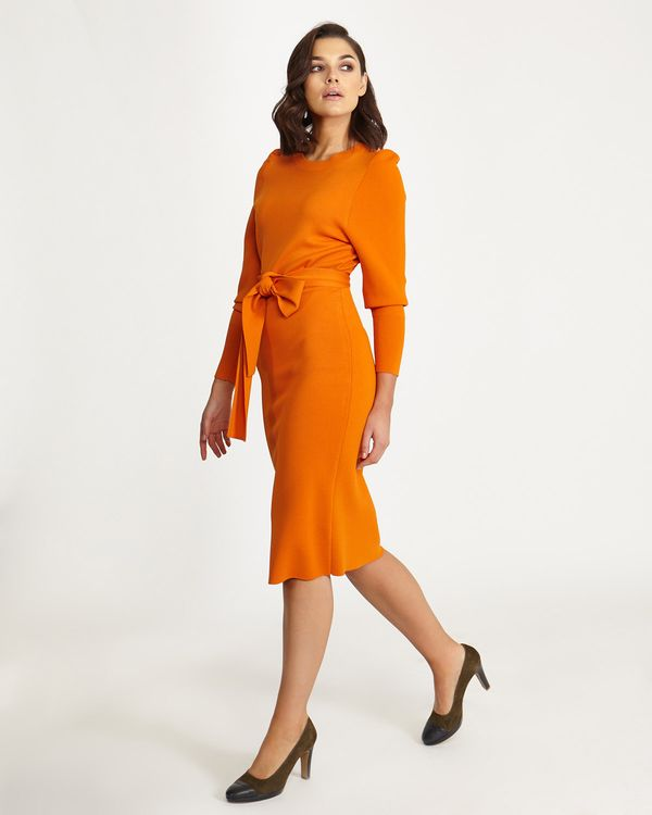 Lennon Courtney at Dunnes Stores Orange Knit Dress