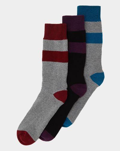 Tech Outdoor Socks - Pack Of 3