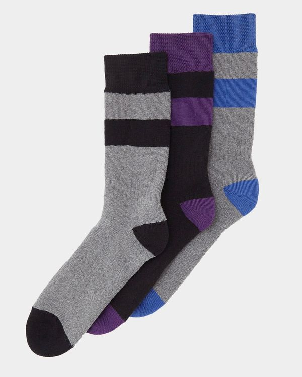 Tech Outdoor Socks - Pack Of 3