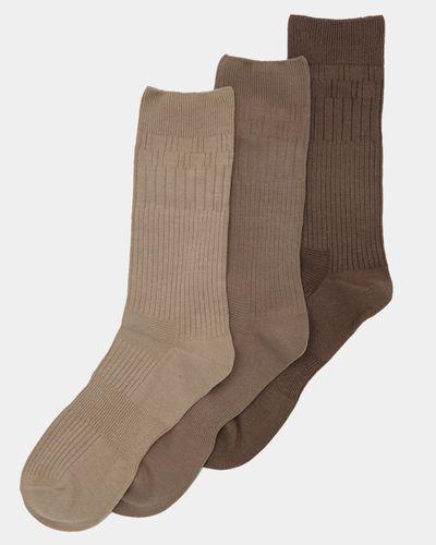 Comfort Top Sock - 3 Pack