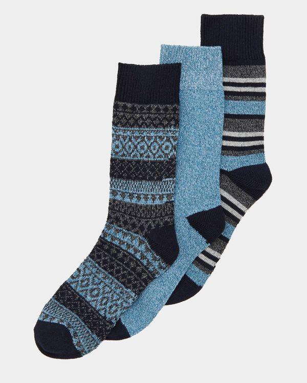 Casual Socks - Pack Of 3