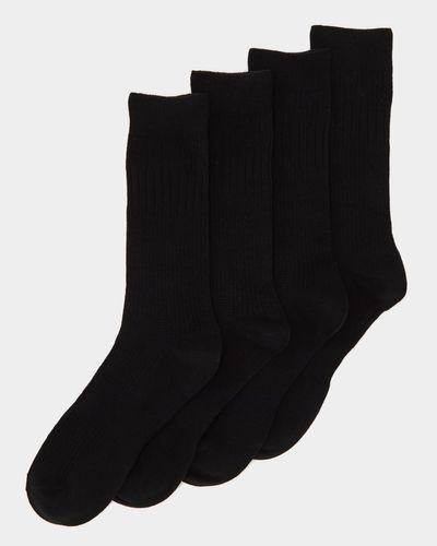 Comfort Top Socks - Pack Of 4 thumbnail