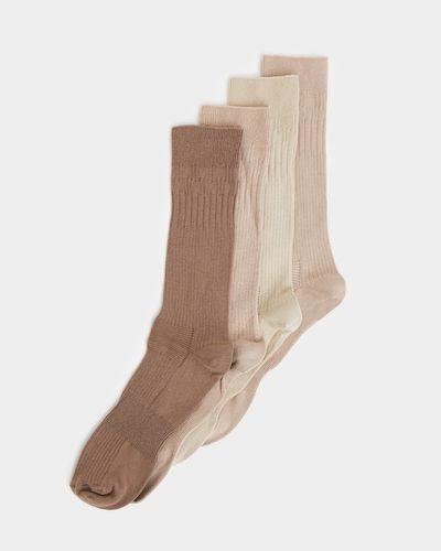 Comfort Top Socks - Pack Of 4