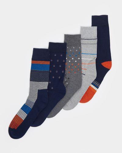 Cushion Sole Socks - Pack Of 5