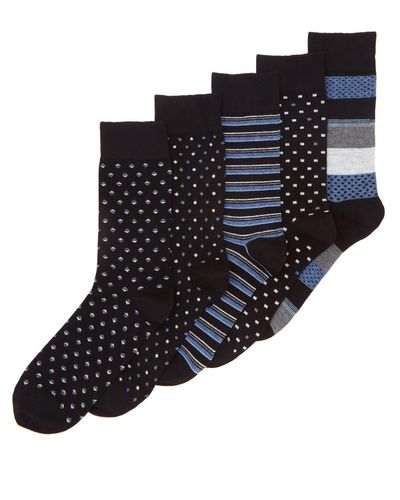 Bamboo Socks - Pack Of 5 thumbnail