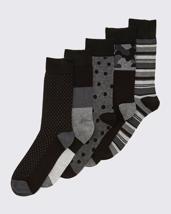 Bamboo Socks - Pack Of 5