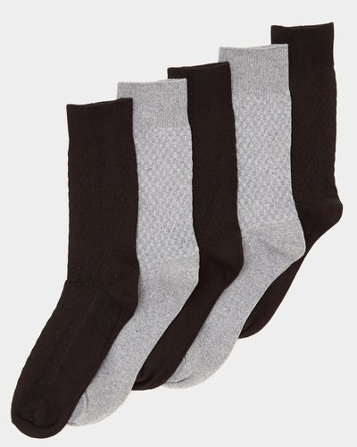Textured Modal Socks - Pack Of 5 thumbnail