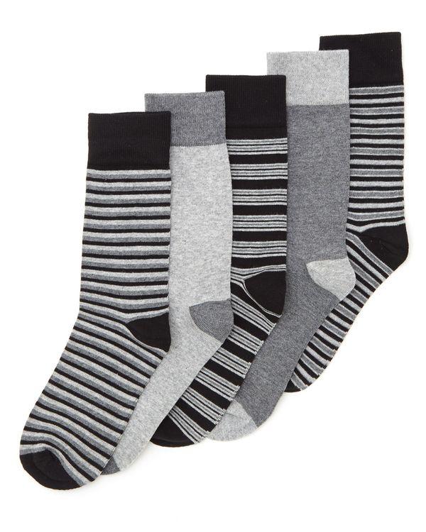 Modal Design Socks - Pack Of 5