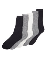 tan Mens Leisure Socks - Pack Of 5