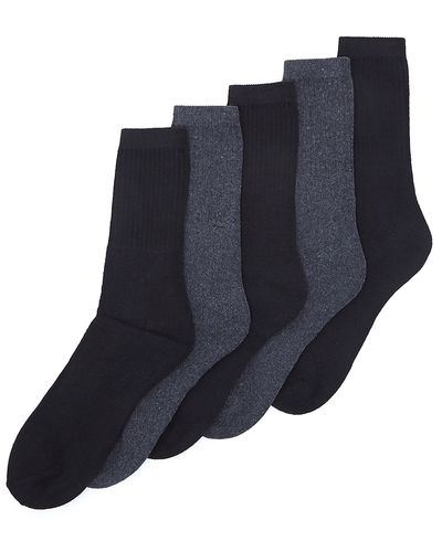 Mens Leisure Socks - Pack Of 5