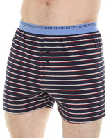blue-navy Loose-Fit Boxer - 3 Pack