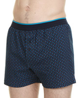 navy-teal Loose-Fit Boxer - 3 Pack