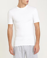 white Cotton T-Shirt - 2 Pack