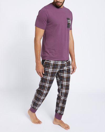 Jersey T-Shirt And Pants Pyjama Set