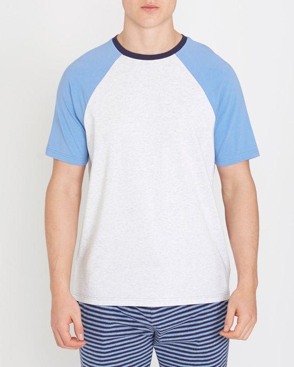 Short-Sleeved Raglan Modal T-Shirt